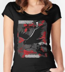 The Following: Quotes of a Killer Women's Fitted Scoop T-Shirt