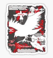 The Following: Quotes of a Killer Sticker
