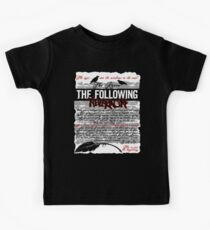 The Following:Nevermore Kids Tee