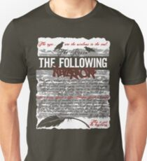 The Following:Nevermore Unisex T-Shirt