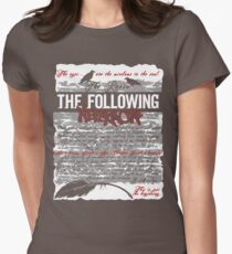 The Following:Nevermore Women's Fitted T-Shirt