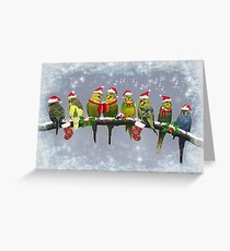 The Little Carollers Greeting Card