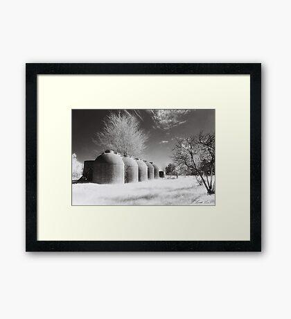 Wine Vats, Rutherglen Framed Print