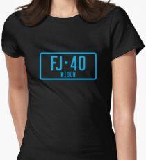 FJ40 Widow Logo Blue T-Shirt