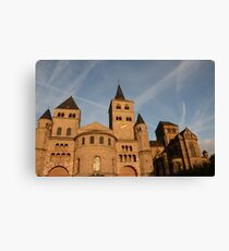The High Cathedral of Saint Peter in Trier Canvas Print