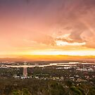 Natures Pallette, Mt Ainslie - Canberra by Troy Barrett