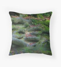 Roots in the Hundred Acre Wood Throw Pillow