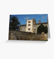 Canons Ashby Greeting Card