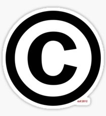 Copyright (©) Sticker