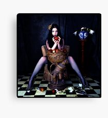 evil queen snow white Canvas Print
