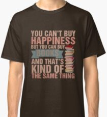 Books=Happiness Classic T-Shirt