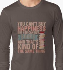 Books=Happiness Long Sleeve T-Shirt