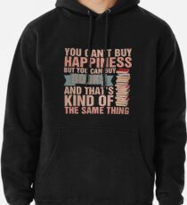 Books=Happiness Pullover Hoodie