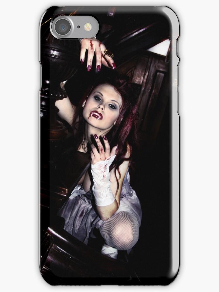Vampire girl sexy iphone by bravomodels