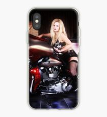 Harley Davidson girl 05 iPhone Case
