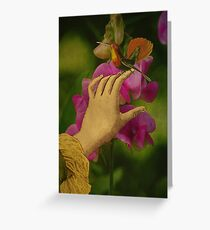 Touching Perfection Greeting Card