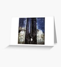 Crypt Door Greeting Card