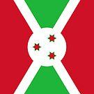 Burundi Flag by pjwuebker