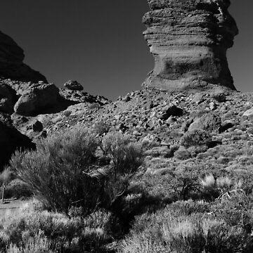 Pillar near Mt Teide by Zedder