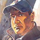 North Light Self Portrait 2013 by center555
