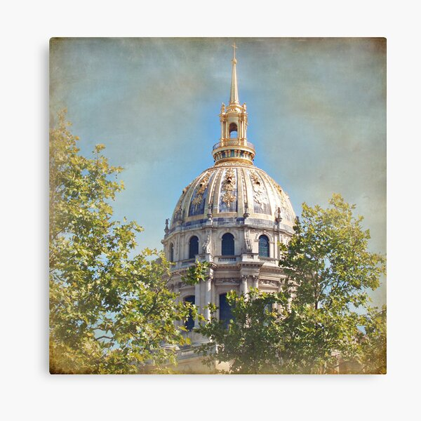 Mansart's Gilded Dome Canvas Print