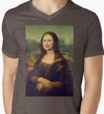 Mona Clinton Mens V-Neck T-Shirt