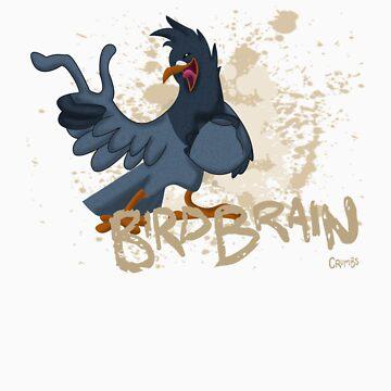 Crumbs: Birdbrain Jay by Emmature