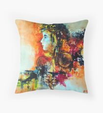 Prelude, featured in Artists Universe, Solo Exhibition Throw Pillow