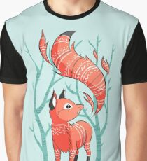Winter Fox Graphic T-Shirt