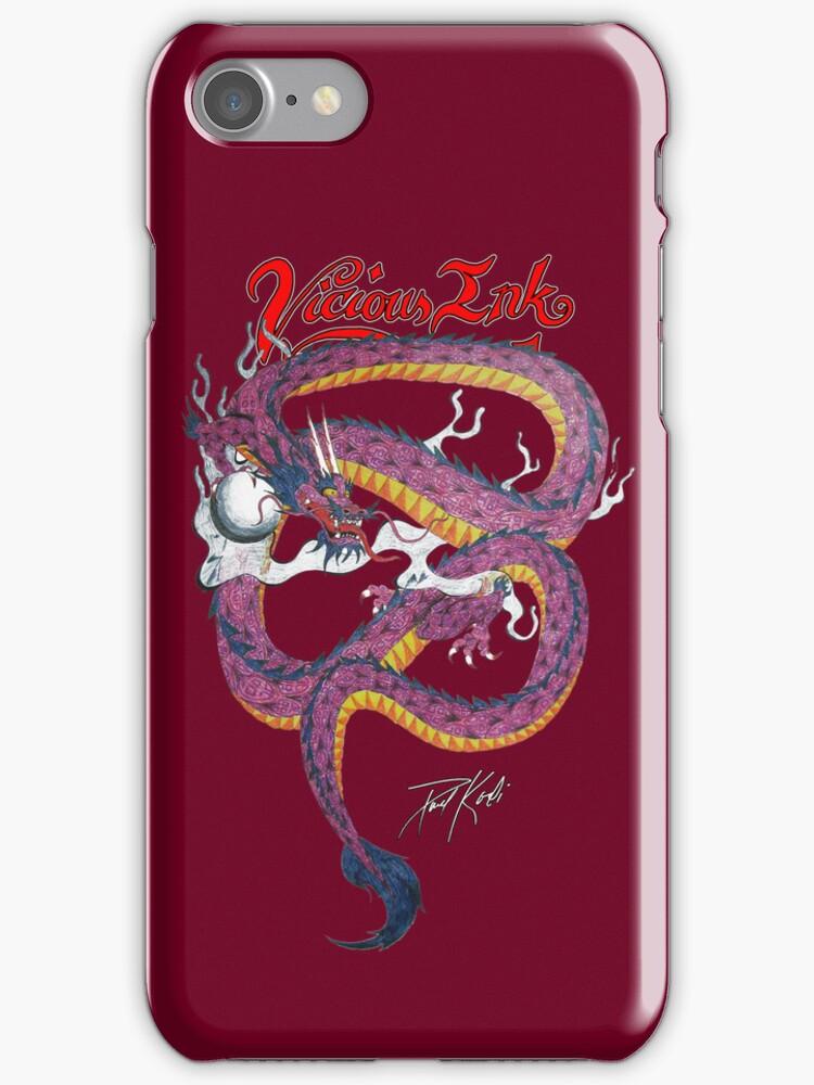 Emperial Dragon by TattooPaul