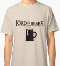 Lord of the Beers - Fellowship of the Beer Classic T-Shirt
