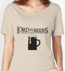 Lord of the Beers - Fellowship of the Beer Women's Relaxed Fit T-Shirt