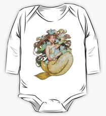 Mer Kittens One Piece - Long Sleeve