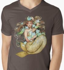 Mer Kittens Mens V-Neck T-Shirt