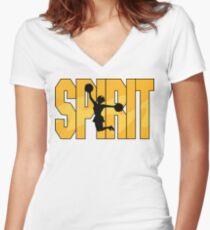 Cheer Spirit Women's Fitted V-Neck T-Shirt