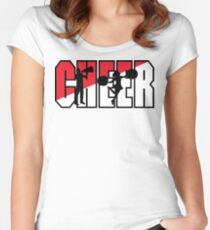 CHEER Women's Fitted Scoop T-Shirt