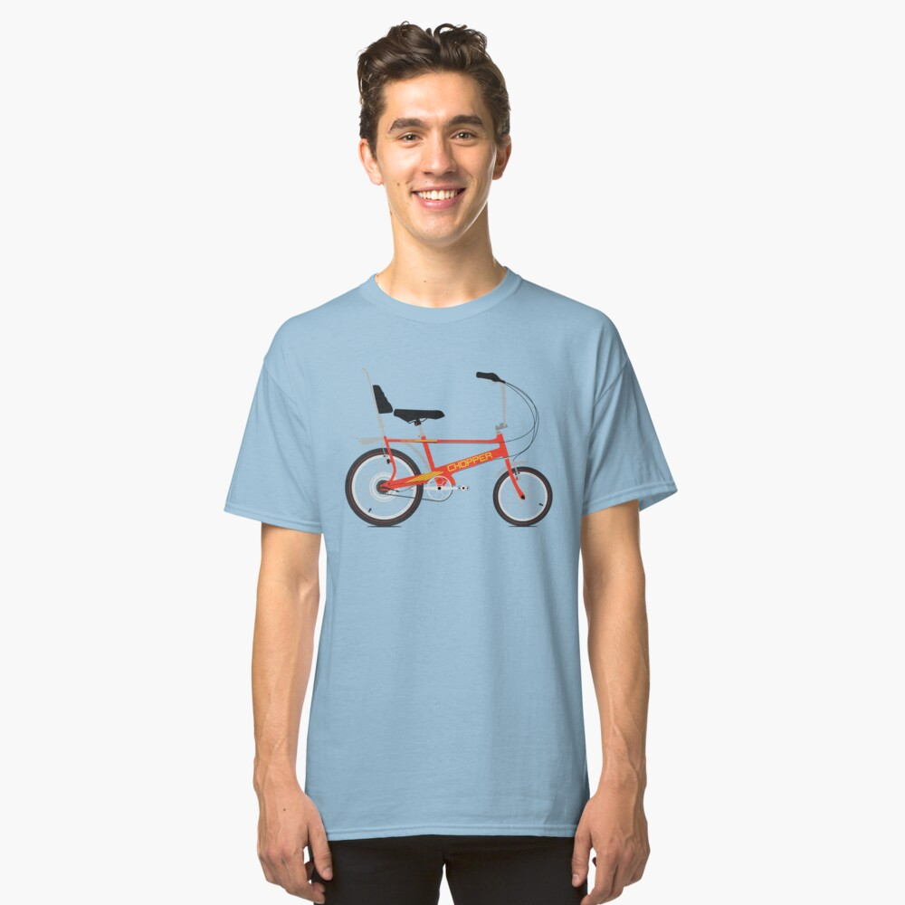 Chopper Bike Classic T-Shirt Front