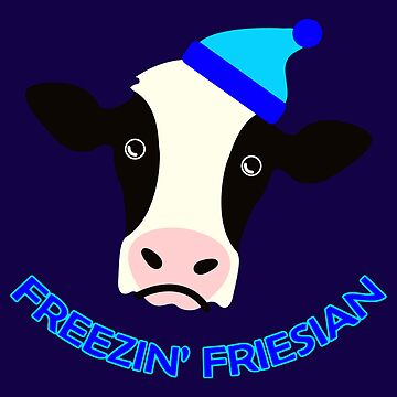 Freezin' Friesian by BartonKeyes