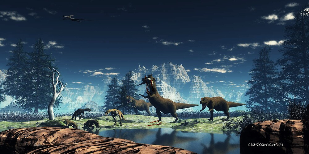 Prehistoric Hunt. by alaskaman53