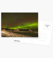 Aurora with Foreground Postcards