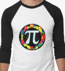 Pi Day Symbol 1 Men's Baseball ¾ T-Shirt