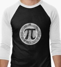 Pi Day Symbol 2 Men's Baseball ¾ T-Shirt