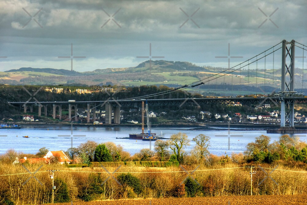 New Forth Crossing - 16 February 2013 by Tom Gomez