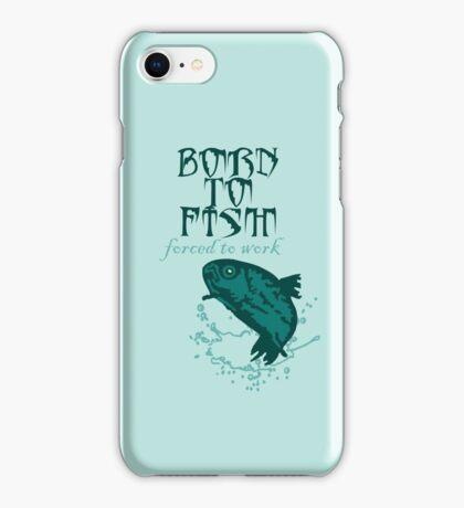 Born to Fish VRS2 iPhone Case/Skin