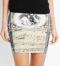 Frederick Chopin Polonaise art Mini Skirt
