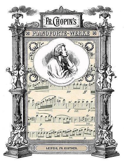 Frederick Chopin Polonaise art by JBJart