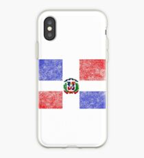 Dominican Flag iPhone Case