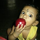 Mummy said  apple a day keeps doctor away by sivagurun