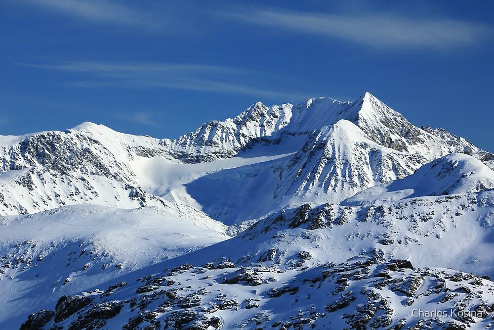 North of Blackcomb Mountain by Charles Kosina