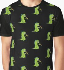 Hungry Dinosaur Graphic T-Shirt